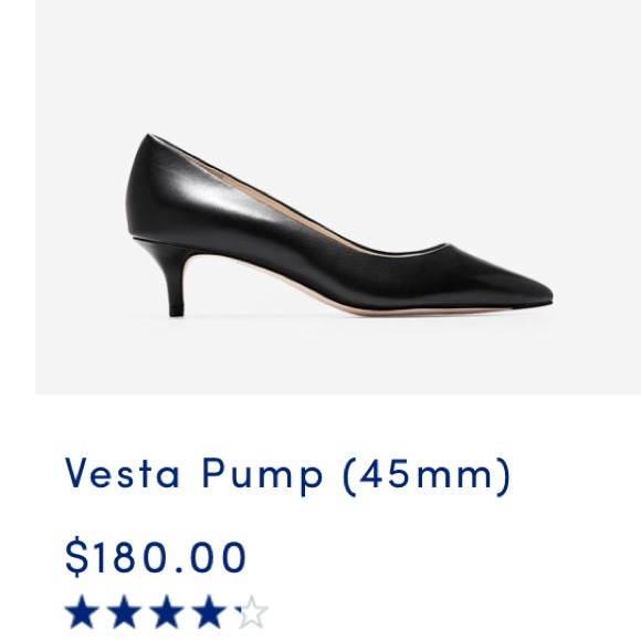 Cole Haan Womens Vesta Pump 45mm
